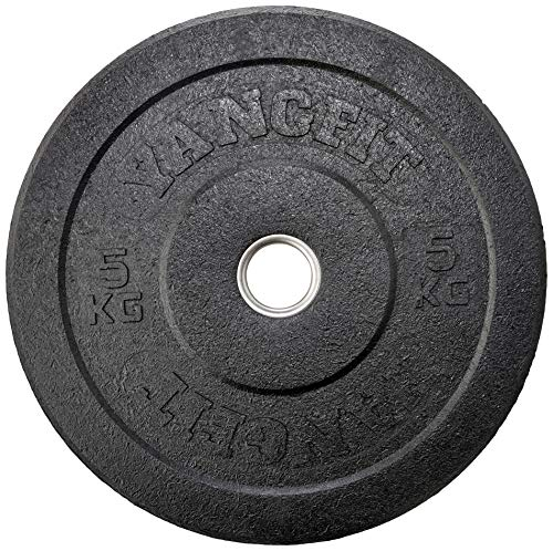 Anilha Olímpica Bumper Crumb Plate Hi Temp Yangfit 5kg