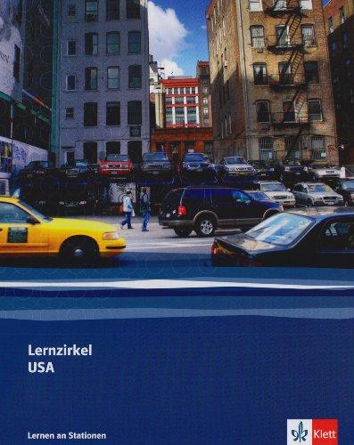 Lernzirkel USA: Ordner Klasse 8/9 (Lernen an Stationen)