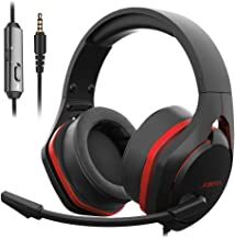 $32 » Jeecoo V22 Gaming Headset for PS4 PC Xbox One, Deep Bass Sound Over-Ear Headphones with Noise Cancelling Microphone, Big Soft Earcups, Compatible with Laptops Nintendo Switch Mobile