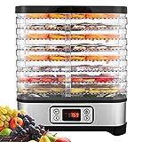 Best Fruit Dehydrators - Food Dehydrator Machine, Fruit Dehydrators with 8-Tray, Digital Review