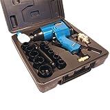 Mauk 16 teiliges Druckluft-Schlagschrauber Set 320Nm 1/2 Zoll inkl. Koffer und Nüssen - Schlagschraubersatz