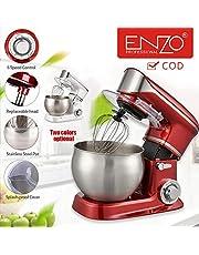 جهاز تحضير الطعام ITAENZO سعة 6 لتر مع مقبض سعة 1000 وات أحمر 5 في 1 أدوات مطبخ متعددة الوظائف أدوات طبخ (√COD)