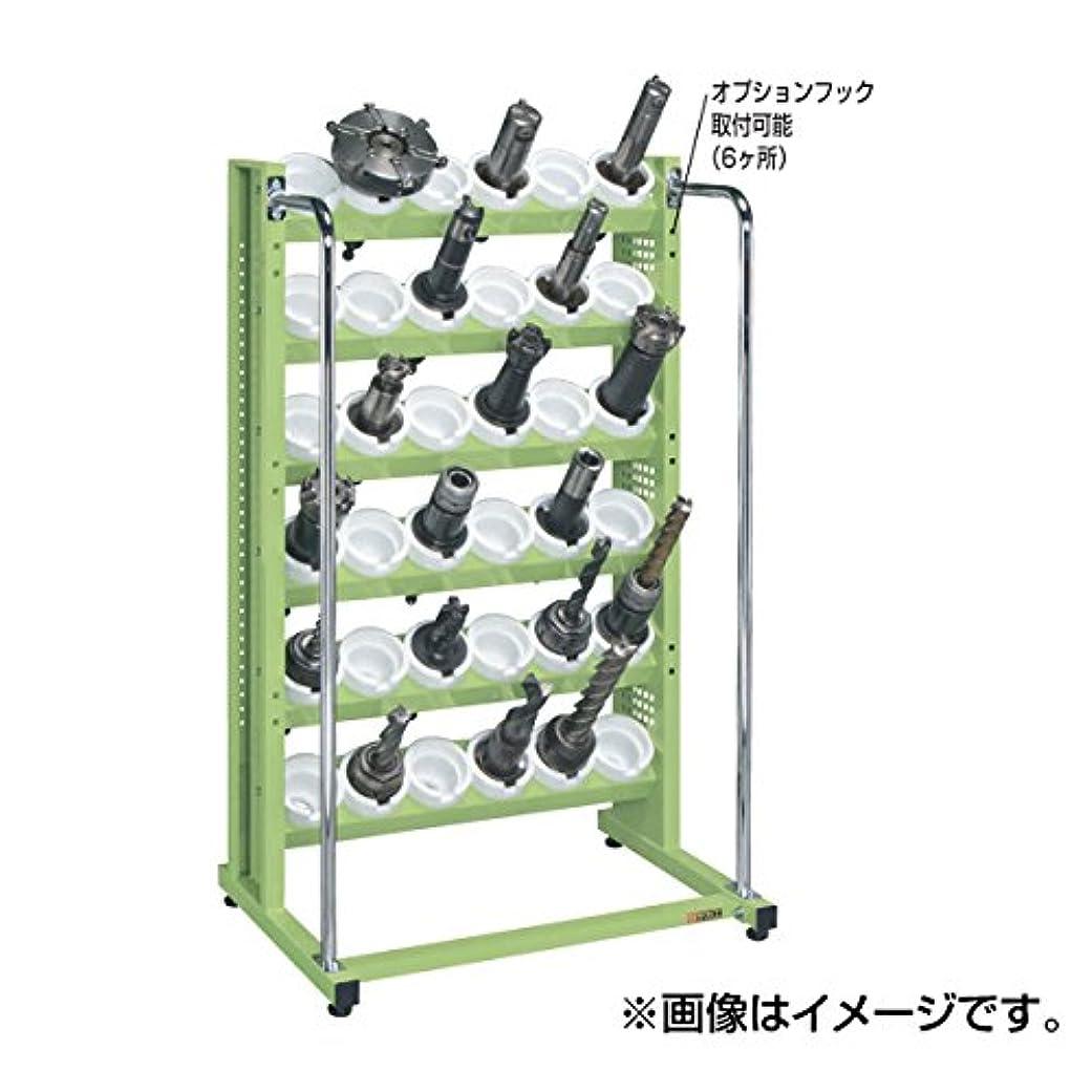 ラウンジしつけあまりにもSAKAE ツーリングラック 小84個トレー無 790×575×1330 グリーン TLN-36E