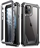 POETIC iPhone 11 Pro Rugged Clear Case, Full-Body Hybrid