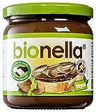 Bionella, crema de nueces y chocolate VEGAN BIO 400 g - BIONELLA