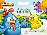 Galinha Pintadinha: Aprender Colorindo - Com 50 Adesivos