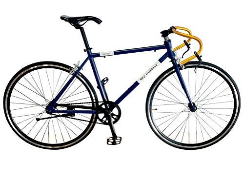 Helliot Bikes Harlem 1 Bicicleta Fixie, Adultos Unisex, Beige, Talla única