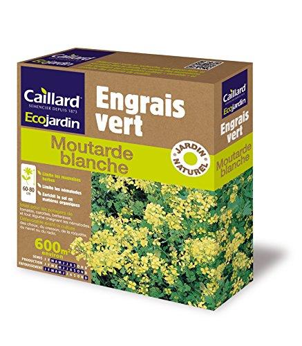 Caillard PFCN18832 Pack de Graines Moutarde Blanc 600 m²