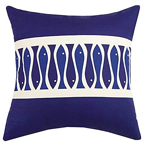 Peking Handicraft - Almohada para Interiores y Exteriores, Color Azul