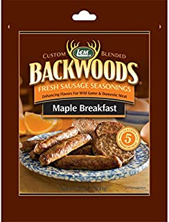 Backwoods Maple Breakfast Fresh Sausage Seasoning - Maple Breakfast Seasoning Makes 5 lbs.