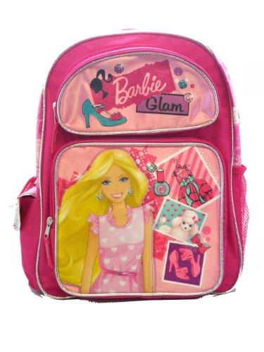 Mattel Small Size Pink Barbie Glam Backpack - Barbie Kids Backpack