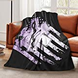 Ultra-Soft Flannel Blanket Emt Emergency Medical Technician Star Of Life Throw Blankets Plush Blanket for Boys Girls Bed Blanket for Crib Couch Chair Living Room Home Travel 50'X40' for Kids Baby