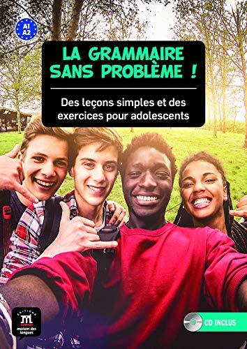 La grammaire sans problème! A1-A2 Livre de l'élève + CD: La grammaire sans problème! A1-A2 Livre de l'élève + CD (Texto Frances)