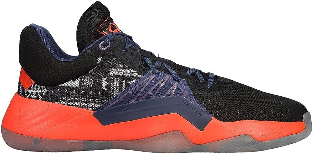 adidas Men's Don Issue 1 GCA Basketball CoreBlack/TechIndigo/TechPurple