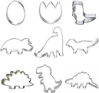 Dinosaurio Cortador de galletas de dinosaurio Tyrannosaurus Stegosaurus Triceratops Dinosaurio Huevo de dinosaurio Huella de dinosaurio