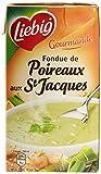 Liebig Soupe Fondue de Poireaux aux Saint-Jacques Brique de 1L