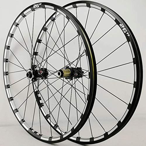 LSRRYD - Fahrradfelgen in Black hub, Größe 26inch