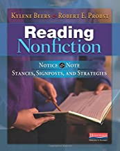 Reading Nonfiction: Notice & Note Stances, Signposts, and Strategies