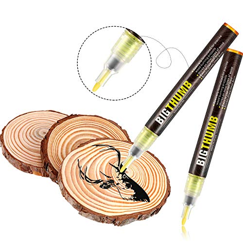 Pyrography Marker Wood Burning Pen for DIY Wood Painting, Replace Wood Burning Iron Tool, Easy and Safe