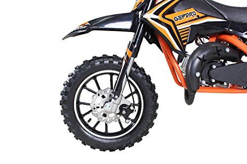 Actionbikes Gepard 49 cc Pocket Bike – Benzin (Orange) - 6