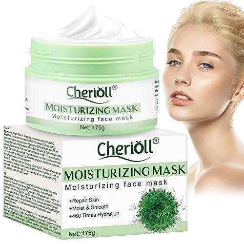 Moisturizing Face Mask, Moisturizing Mask, Herbal Selaginellae Mask,Blackhead Remover - Cleanse and Detoxify the Skin – Hydrating Clay Mask for Face - Rejuvenating