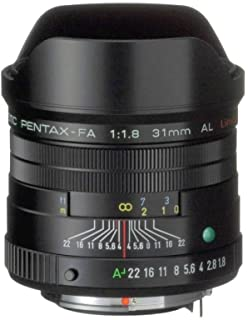 Pentax 31mm F/1.8 FA Limited Lens for Pentax and Samsung SLR Cameras