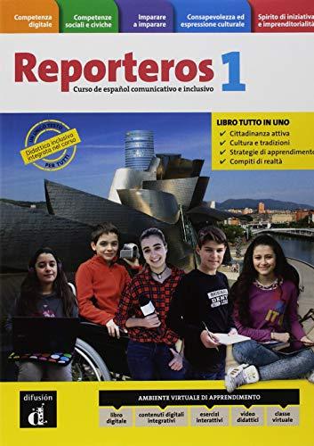 Reporteros Italia. Libro del alumno. Cuaderno. Per la Scuola media. Con e-book. Con espansione online [Lingua spagnola]: Vol. 1