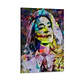 Katy Perry 2 Leinwand-Kunst-Poster und Wandkunstdruck,