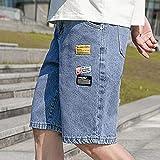 Shorts Pantalones Cortos Hombres Pantalones Cortos De Mezclilla para Hombre Pantalones Cortos De Vaquero...