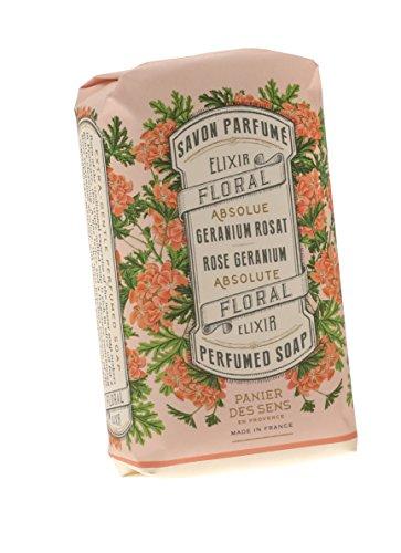 Panier des Sens, Savon délicat géranium rose 150 g