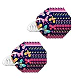 RUITOTP 10/20/30/50/100 Stück Erwachsene Mund und Nasenschutz Multifunktionstuch Waschbar Wiederverwendbar Atmungsaktiv Farbig Bunt Halstuch-09