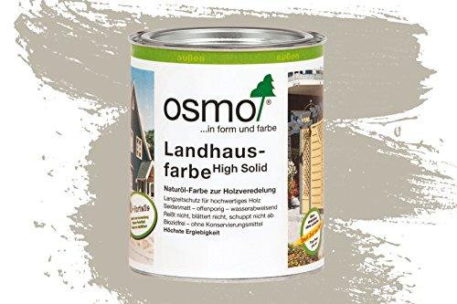 Osmo Landhausfarbe - 0.75 Liter (2708 Kieselgrau)