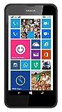 Nokia Lumia 630 RM-978 4.5 InchFactory Unlocked - International Version No Warranty (Black)