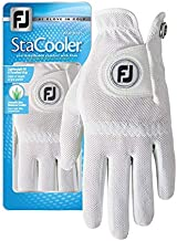 FootJoy Women's StaCooler Golf Glove, Pearl Large, Worn on Left Hand