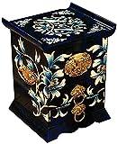 WXking Boîte de rangement chinoise, artisanat, boîte de rangement de bijoux, coiffeuse, peint...