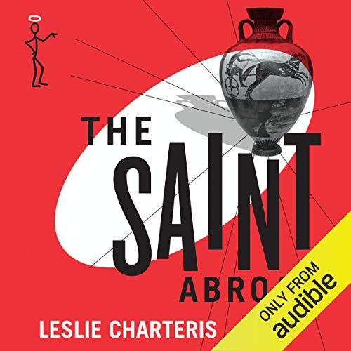 The Saint Abroad audiobook cover art