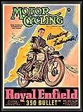 Motor Cycling FRIDGE MAGNET 6 x 8 Royal...