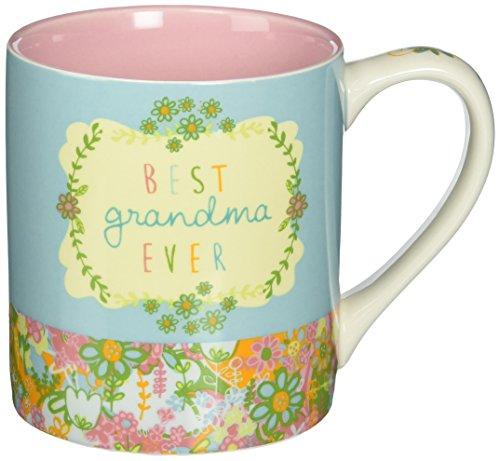 Enesco 4054888 Where The Heart is Amy Lee Week Best Grandma Ever Mug,...