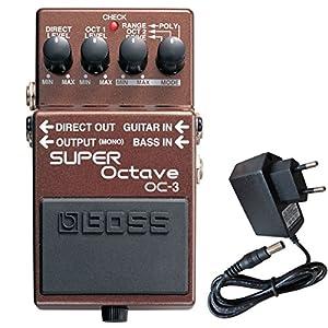 Boss OC-3 Super Octave Effektgerät + keepdrum 9V Netzteil