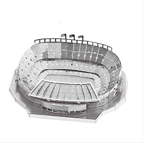 NOBRAND Camp Nou Stadium Architecture 3D Metal Puzzles Building Jigsaw Construction Barcelona Model Collection Adult Jigsaw Gift Toys