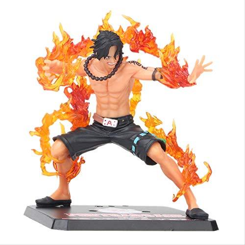 GYINK Anime De Una Pieza De Una Pieza Zero Portgas D Ace Battle Ver.Figura De Acción Fleam 14Cm, Juguetes Modelo De PVC con Caja Original