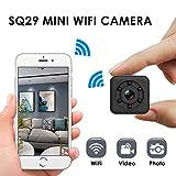 SanyaoDU Mini-Überwachungskamera 480P FHD WiFi Kamera mit wasserdicht Shell Nachtversion...
