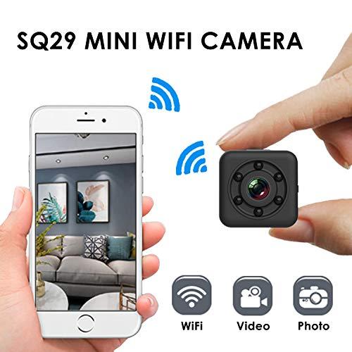 Nanny Cam Mini caméra Espion sans Fil WiFi Sécurité Domestique Enregistreur vidéo...