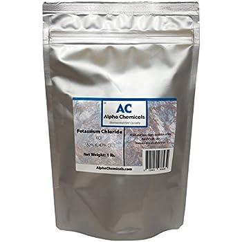 Potassium Chloride - KCl - 1 Pound