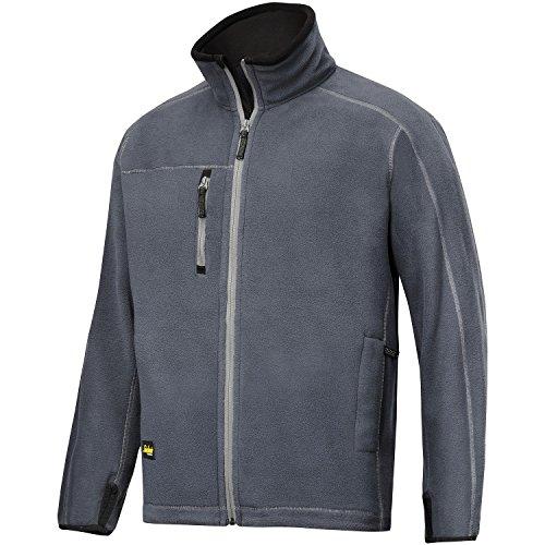 Snickers Herren AIS Workwear Fleece Jacke (Medium) (Stahl Grau)
