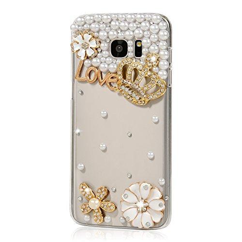 Mavis's Diary - Carcasa rígida para Samsung Galaxy S7 Edge (2016), diseño de cristales brillantes