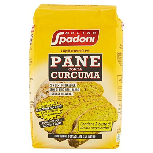 Molino Spadoni Preparato per Pane con Curcuma, 1000g