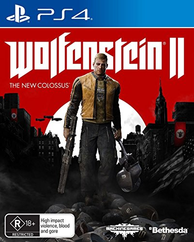 Wolfenstein II The New Colossus PS4 Playstation 4 Game