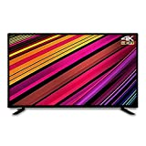 CFYP Téléviseur LED 4K Ultra HD - High Dynamic Range (HDR) - Smart TV (Android TV) - avec MEMC Motion Anti-Shake - (Noir, modèle 2021) 32/40/43/50/55 Pouces