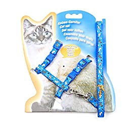 Cat Harness, SHOBDW Nylon Pet Cat Kitten Adjustable Harness Lead Leash Collar Belt Safety Rope New